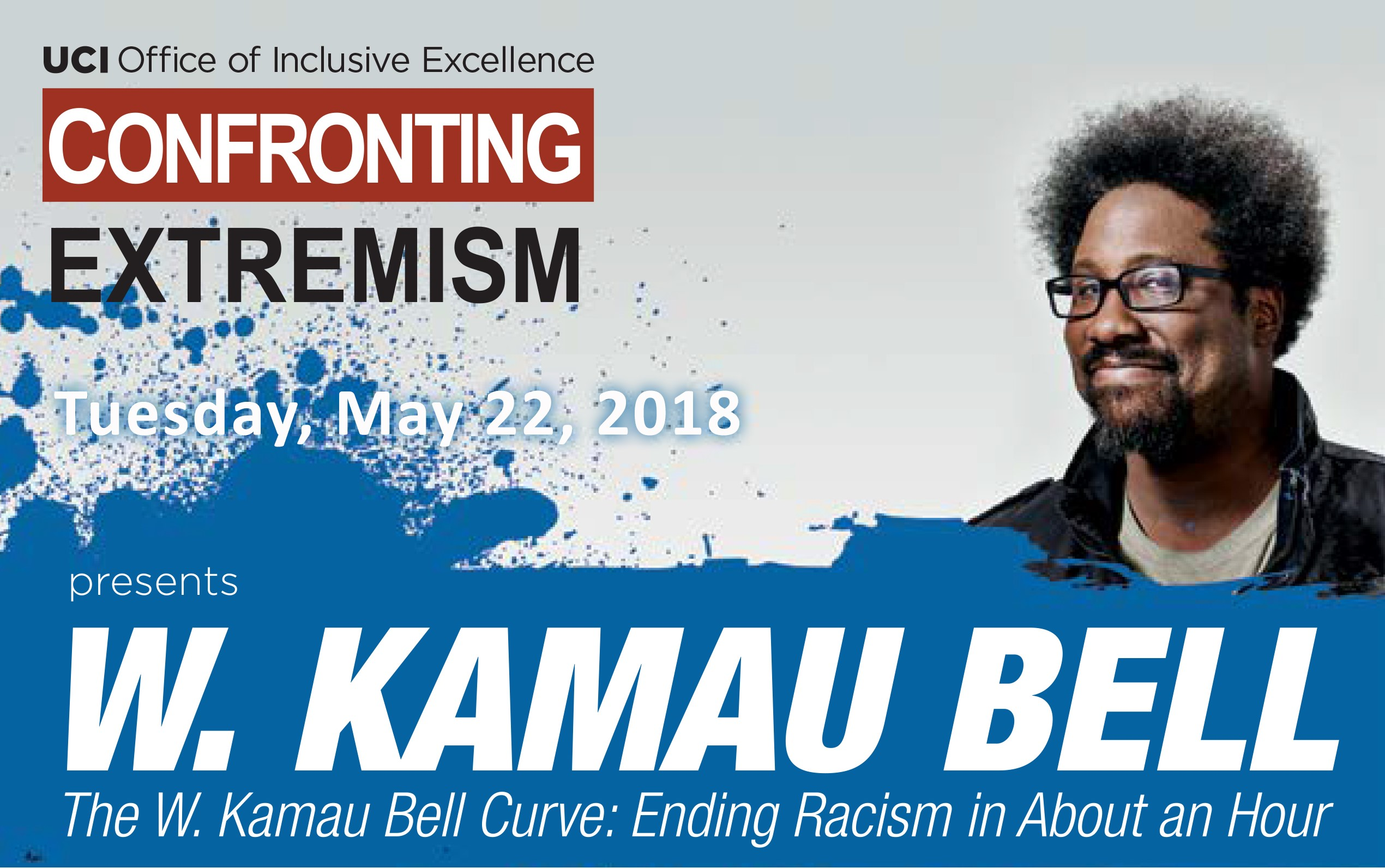 Picture of advertisement for W. Kamau Bell's Ending Racism in About an Hour