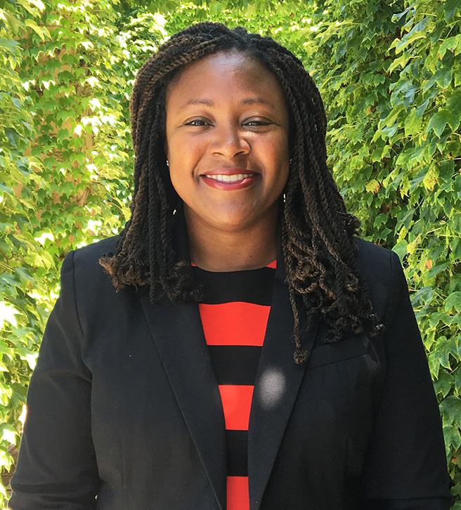 OEOD case management coordinator, Charlene Mandau